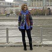 Одежда ручной работы. Ярмарка Мастеров - ручная работа Куртка Цветная масенька. Handmade.