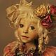 """Коллекционные куклы ручной работы. Ярмарка Мастеров - ручная работа. Купить Кукла """"Ангелина"""". Handmade. Кукла"""