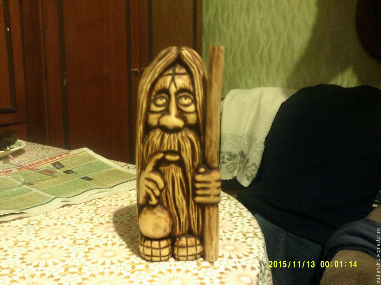 Домовенок из дерева своими руками 83