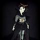 Коллекционные куклы ручной работы. Дэниела Gothic Steampunk шарнирная кукла. Инна Павлова. Ярмарка Мастеров. Авторская работа, шарнирка