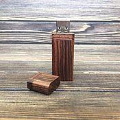 Подарки к праздникам ручной работы. Ярмарка Мастеров - ручная работа Флешка в корпусе из палисандра. Handmade.