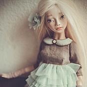 Куклы и игрушки ручной работы. Ярмарка Мастеров - ручная работа Есения- шарнирная куколка. Handmade.