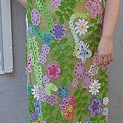 """Одежда ручной работы. Ярмарка Мастеров - ручная работа Платье""""Летняя поляна"""". Handmade."""