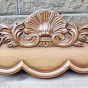 Для дома и интерьера ручной работы. Ярмарка Мастеров - ручная работа Вешалка Барокко, резьба по дереву. Handmade.