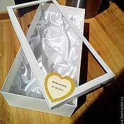 Сувениры и подарки ручной работы. Ярмарка Мастеров - ручная работа Свадебная упаковка. Handmade.