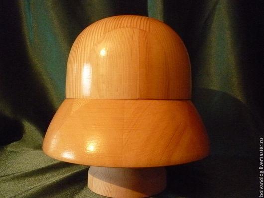 Манекены ручной работы. Ярмарка Мастеров - ручная работа. Купить Болванка- шляпа для валяния 006. Handmade. Болванка, сосна