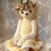 """Куклы и игрушки ручной работы. Ярмарка Мастеров - ручная работа Кошка """"Лето навсегда"""". Handmade."""