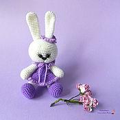 Куклы и игрушки ручной работы. Ярмарка Мастеров - ручная работа Вязаная игрушка Зайка Сиренька. Handmade.