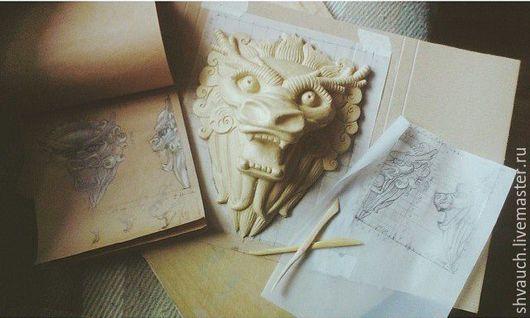 Элементы интерьера ручной работы. Ярмарка Мастеров - ручная работа. Купить Скульптура на заказ. Handmade. Белый, скульптурная миниатюра