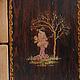 Изображение на боковой стенке комодика
