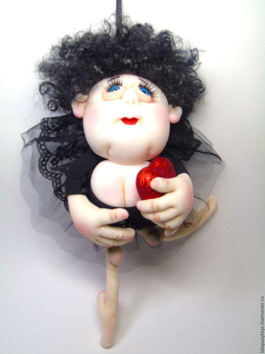 Коллекционные куклы ручной работы. Ярмарка Мастеров - ручная работа. Купить Текстильная кукла-попик Марго. Handmade. кукла на удачу