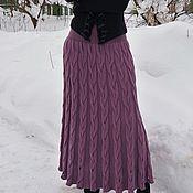 Одежда ручной работы. Ярмарка Мастеров - ручная работа Юбка вязаная Тоскана. Handmade.