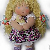 """Куклы и игрушки ручной работы. Ярмарка Мастеров - ручная работа Кукла вальдорфская """"Снежка"""". Handmade."""