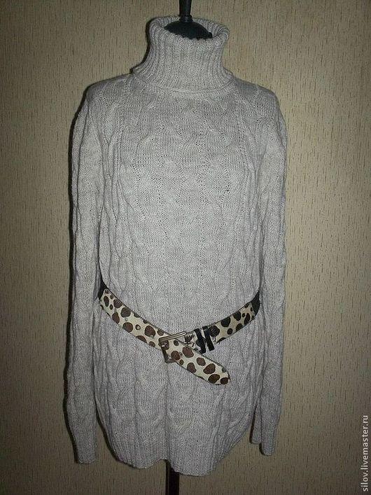 """Кофты и свитера ручной работы. Ярмарка Мастеров - ручная работа. Купить Вязаный свитер """"Лаконичность"""". Handmade. Бежевый, купить подарок"""