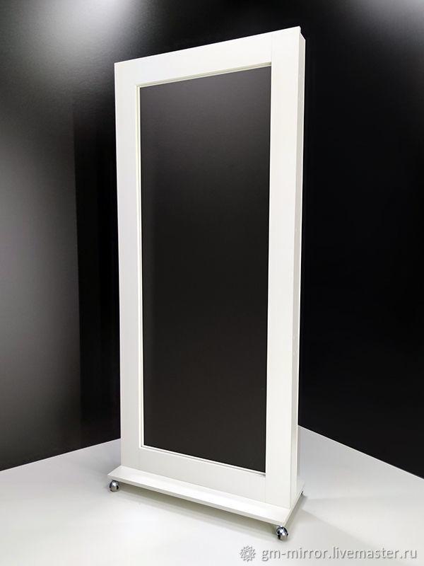 (80смх185см на подставке с колесами / без ламп) Гримерное зеркало, Зеркала, Москва,  Фото №1