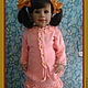Одежда для девочек, ручной работы. Ярмарка Мастеров - ручная работа. Купить Костюм. Handmade. Оранжевый, однотонный, пряжа детская