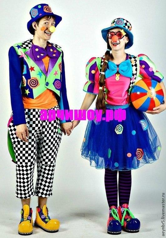 Карнавальные костюмы ручной работы. Ярмарка Мастеров - ручная работа. Купить Костюм для клоуна. Handmade. Клоун, костюм для сцены, габардин