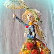"""Куклы и игрушки ручной работы. Ярмарка Мастеров - ручная работа Кукла из шерсти """"Неисправимая оптимистка!"""". Handmade."""