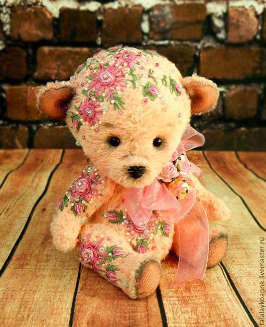 Мишки Тедди ручной работы. Ярмарка Мастеров - ручная работа. Купить Мишка-тедди. Handmade. Мишка-тедди, вышивка, подарок