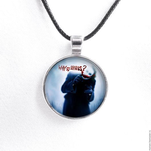 """Аниме ручной работы. Ярмарка Мастеров - ручная работа. Купить Кулон-медальон """"Джокер"""". Handmade. Комбинированный, медальон, кулон аниме"""