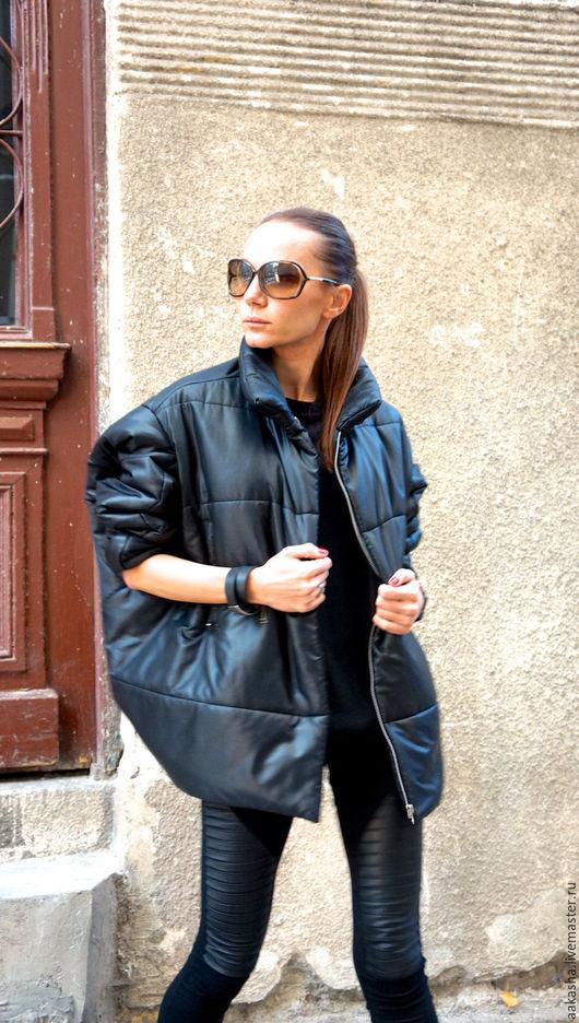 куртка на молнии стильная куртка черная стеганая куртка свободная куртка