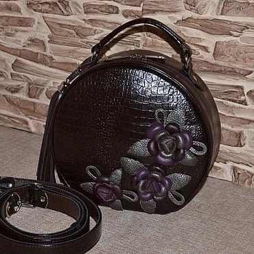 Bags and accessories handmade. Livemaster - original item Leather bag women`s Handbag genuine leather Model 02. Handmade.