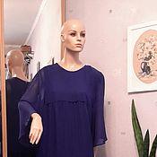 Одежда ручной работы. Ярмарка Мастеров - ручная работа Воздушное платье из шифона. Handmade.