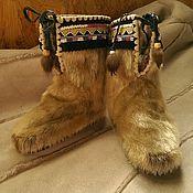 Обувь ручной работы. Ярмарка Мастеров - ручная работа Торбаза детские. Handmade.
