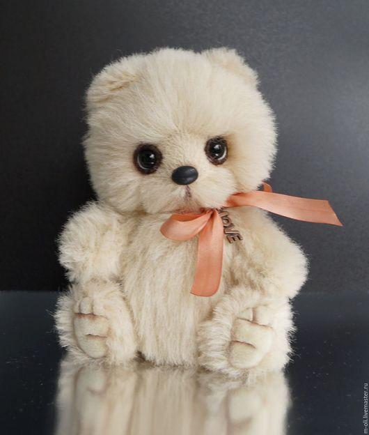 Мишки Тедди ручной работы. Ярмарка Мастеров - ручная работа. Купить мишка Mishanya. Handmade. Бежевый, игрушка ручной работы