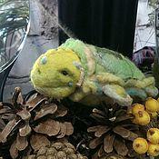 Куклы и игрушки handmade. Livemaster - original item Teddy turtle.. toy. The Turtle Tortilla. Toy for children. Handmade.