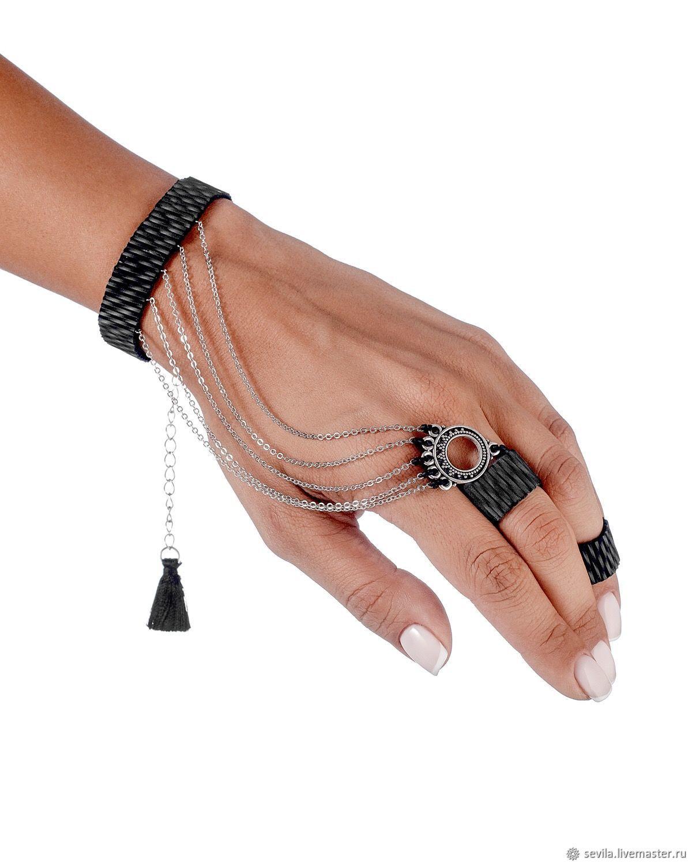 MUDRA BALI ring bracelet, Phalanx ring, St. Petersburg,  Фото №1