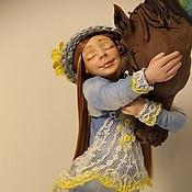 """Куклы и игрушки ручной работы. Ярмарка Мастеров - ручная работа Авторская Кукла """" Небесная Сивка"""" из полимерной глины. Handmade."""