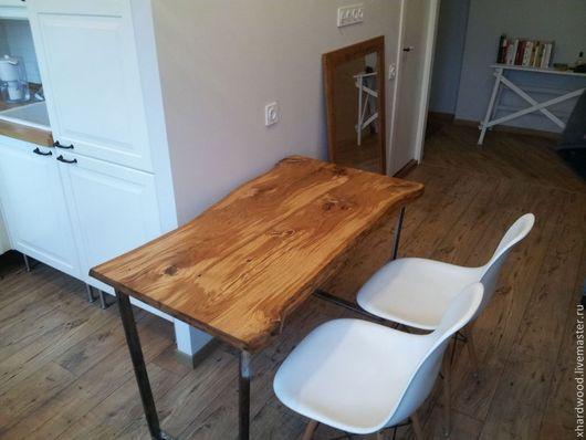 Мебель ручной работы. Ярмарка Мастеров - ручная работа. Купить Стол для кухни. Handmade. Коричневый, стол, деревянный стол