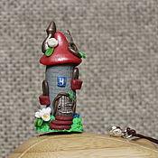 """Украшения ручной работы. Ярмарка Мастеров - ручная работа Подвеска-статуэтка """"Домик Пацифик"""". Handmade."""