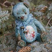 Куклы и игрушки ручной работы. Ярмарка Мастеров - ручная работа Зимний сказочник мишка тедди. Handmade.
