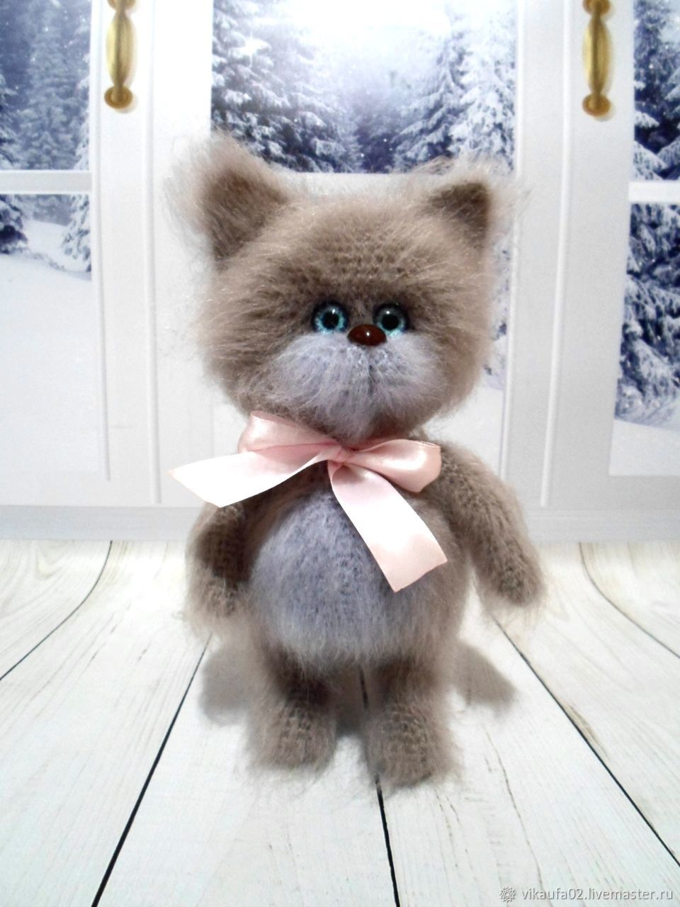 Котенок пупсик, Мягкие игрушки, Уфа,  Фото №1