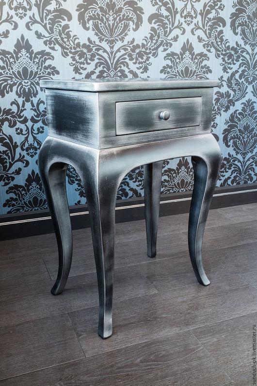 Мебель ручной работы. Ярмарка Мастеров - ручная работа. Купить Тумба. Handmade. Черный, спальня