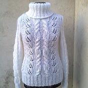 Одежда ручной работы. Ярмарка Мастеров - ручная работа свитерок вязаный мохеровый ручная работа. Handmade.