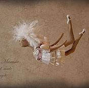 """Куклы и игрушки ручной работы. Ярмарка Мастеров - ручная работа """"Ангел Рождественский"""" - авторская кофейная куколка. Handmade."""