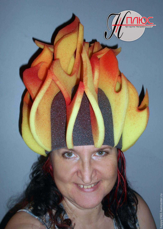 """шапочка из поролона """"Огонь"""" – купить в интернет-магазине ... - photo#25"""