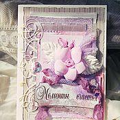 Открытки ручной работы. Ярмарка Мастеров - ручная работа открытка с розой ручной работы. Handmade.