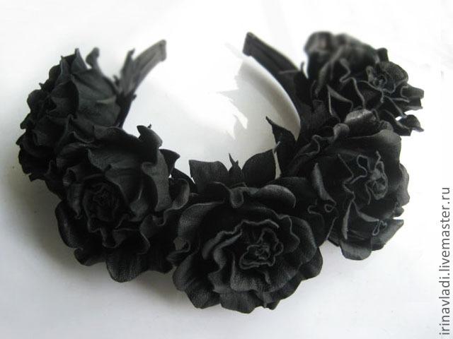 Черные розы купить цветы