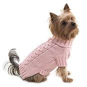 Для домашних животных, ручной работы. Ярмарка Мастеров - ручная работа вязаная одежда для собак и кошек. Handmade.