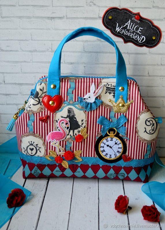 89eacfd2fa131b Baby's Accessories handmade. Livemaster - handmade. Buy Bag for girls  'Alice in Wonderland ...