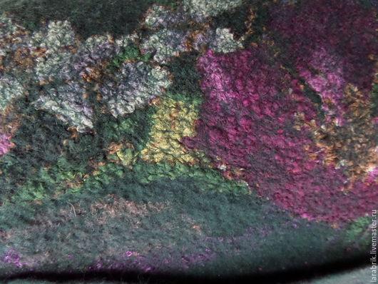 Пиджаки, жакеты ручной работы. Ярмарка Мастеров - ручная работа. Купить Цветочное настроение. Handmade. Морская волна