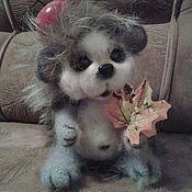 Куклы и игрушки ручной работы. Ярмарка Мастеров - ручная работа вязаная игрушка ежик Тимошка. Handmade.