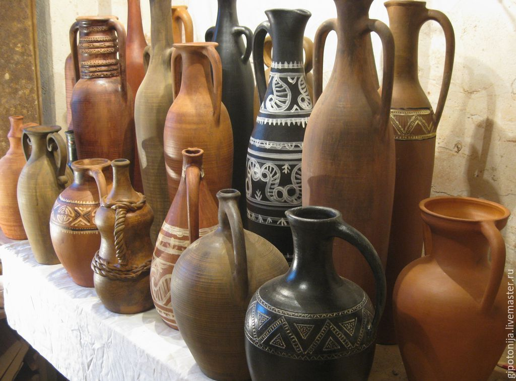 Этнические вазы -2,Н-80 см