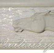 """Картины и панно ручной работы. Ярмарка Мастеров - ручная работа Панно """"Бег. Сквозь золотые облака"""". Handmade."""