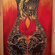 """Картины и панно ручной работы. Ярмарка Мастеров - ручная работа Картина """"Luchia"""". Handmade."""