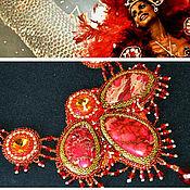 Украшения ручной работы. Ярмарка Мастеров - ручная работа Красный дракон. Handmade.